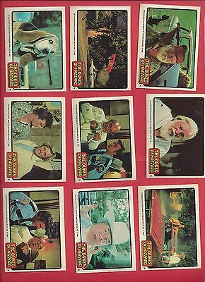 1981 Donruss Dukes of Hazzard stickers U-pick 2 stickers for $3.00 EX to mint