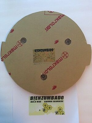 """Vacuum Chamber Lid With No Attachments 13"""" Diameter Polycarbonate"""