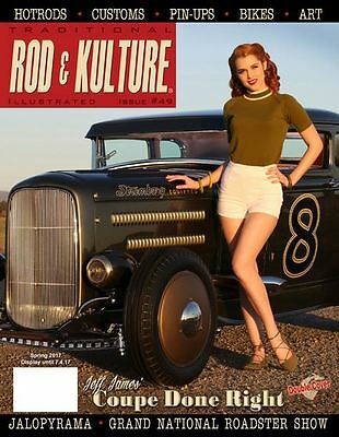 Traditional Rod & Kulture Illustrated #49. 1955 Chevy. 1969 Corvette. 1931 Ford