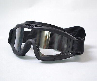 US Army Sand/Wind Prevention Desert Acridid Goggle with Three Changable Lens
