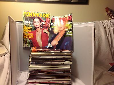 Lot Of 28 Vintage Penthouse Magazines From 1975 To 1989