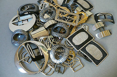 Vintage Lot of Shoe Buckles. 600 grams. New Old Stock