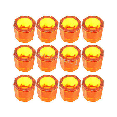 12pcs dental lab Glass dappen dish assorted acrylic container cosmetology art CE