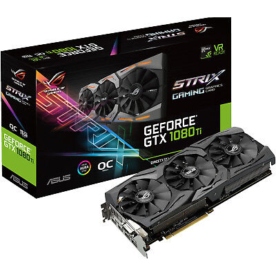 ASUS GeForce GTX 1080Ti ROG Strix OC 11GB Gaming (90YV0AM0-M0NM00)( NVIDIA, Graf