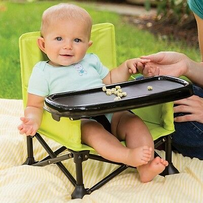 Booster Infant Sit Summer Pop N Seat Style Folding Feeding Baby Chair Compact