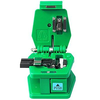 Goeco Fiber Optic Cable Cutter Fiber Cleaver Knife 36,000 Cleaves and Coating