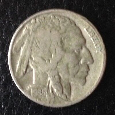 1935 Five Cents Buffalo Nickel Us USA America Coin