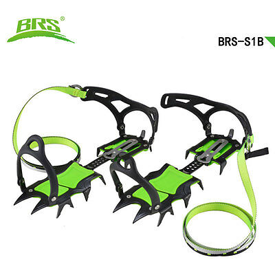 BRS-S1B steel 14 Teeth 2.5cm short tooth Snow climbing Crampon Antiskid Gripper