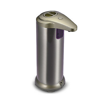 Stainless Steel Automatic IR Sensor Touchless Soap Lotion Liquid Dispenser 280ml