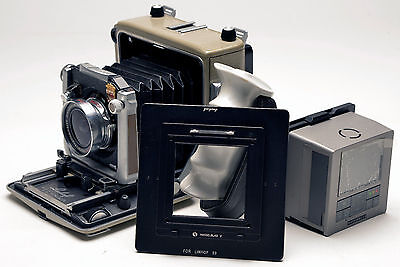 Hasselblad V Back For Linhof 6x9 Adapter F Phase One Sinar Leaf Hasselblad