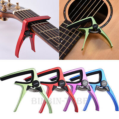 Aroma Metal Electric Guitar Capo Clamp Quick Change for Electric Acoustic Folk