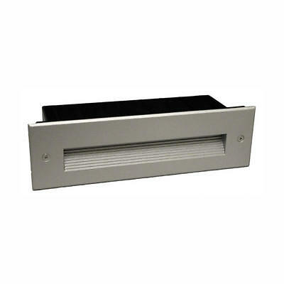 AT9540 Series Wall Brick Light Recessed Stepped Louvre IP65 7W Atom Lighting