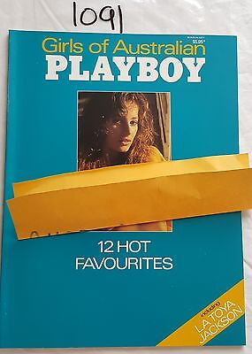 GIRLS of AUSTRALIAN PLAYBOY C.1989 *NEAR MINT* LATOYA JACKSON,SHANNON LONG