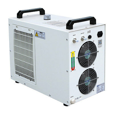 220V 50Hz S&A CW-5200AG Industrial Water Chiller for 150W CO2 Glass Laser Tube