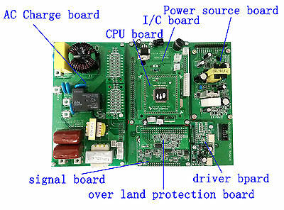 7.0 control board parts of LF2000-15kw pure sine wave power inverter repair part