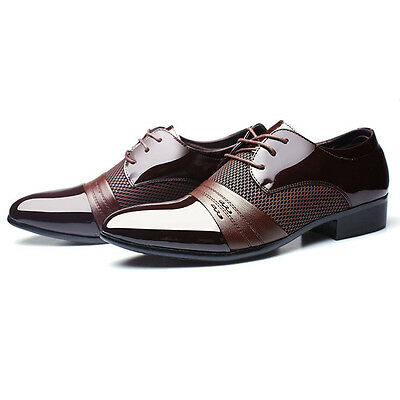High Quality Mens Dress Formal Oxfords Leather Shoes Business Casual Shoes