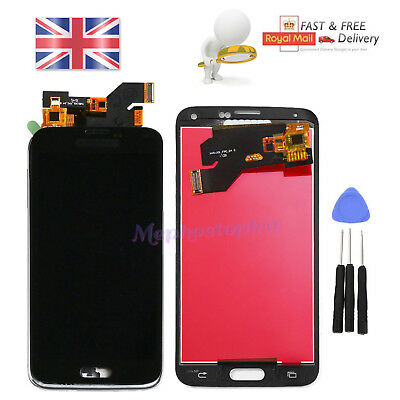For Samsung Galaxy S5 i9600 Replacement LCD Display Digitizer Touch Screen Black