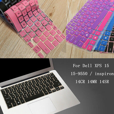 Keyboard Cover Protector For 15.6'' Dell XPS 15 15-9550 / inspiron 14CR Laptop