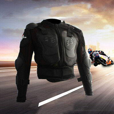 Body Armour Protectors For Motorcycle Motocross Jacket  Spine Chest Guard Vest