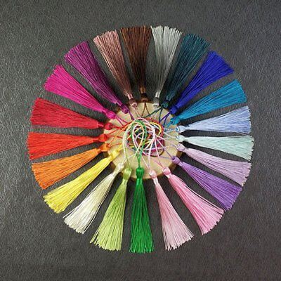 10 x 13.5cm Luxury Silky Tassels - Crafts Sewing Decoration Costume - lady-muck1