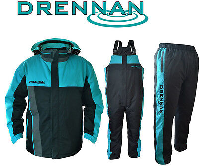 Drennan Quilted Waterproofs - Match Fishing Quilted Jacket, Salopettes, Trousers