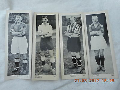 Topical Times Footballers: Job Lot, 24 Cards, 23 Different Players
