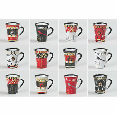 Tasse Cafe 8Cl Color Ass.  (Lot De 6)