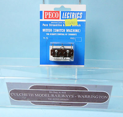 PECO LECTRICS PL-10 TURN OUT MOTOR (SWITCH MACHINE) - NEW. (shop)