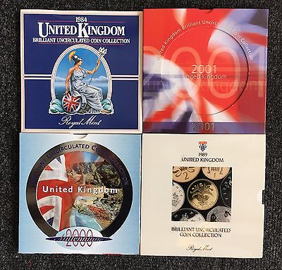 United Kingdom Brilliant Uncirculated Coin Collections - Choose Your Year!!