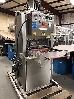 Alloyd Stainless Steel Automatic Blister Tray Sealer