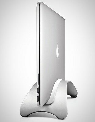 BookArc Mount for MacBook Pro Space-saving vertical desktop stand for MacBook