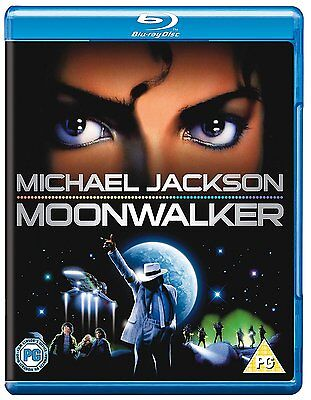 Michael Jacksons Moonwalker Blu-ray Disc DVD Movie NR Rated New Free Shipping