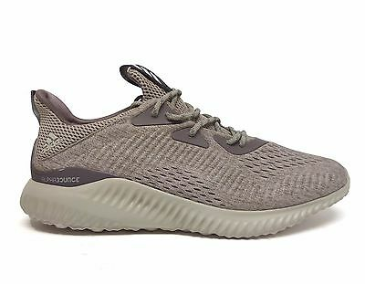 5f9cd2632 Adidas Men s ALPHABOUNCE EM Running Shoes Tech Earth Clear Brown BB9041 ...