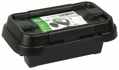 DRiBOX FL-1859-200 IP55 Small Weatherproof Electrical Box - Black