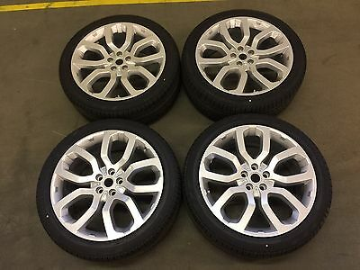 "Set of 4 Range Rover 22"" Style 6 Alloy Wheels And Tyres 