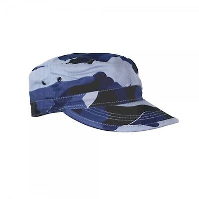 KAS Kids Blue Camo Camouflage Army Cap - Baseball Hat Cap