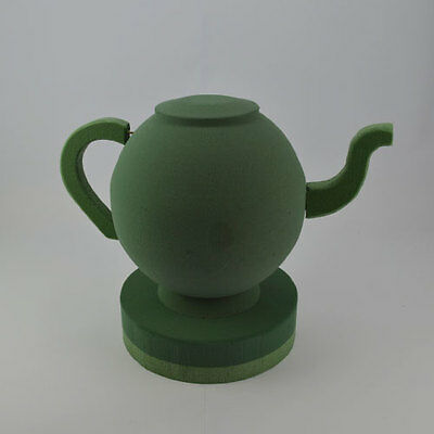 Tea Pot 3D Floral Foam Funeral Tribute Floral Memorial Oasis Type Sku 4055