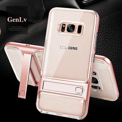 Case For Samsung Galaxy S8 S9 Plus Crystal Hybrid Cover for Galaxy Note 8 9 S7
