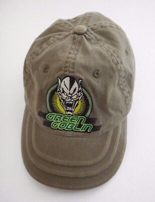 Green Goblin Baseball Cap Boy's Child Youth Hat Cotton Adjustable Closure
