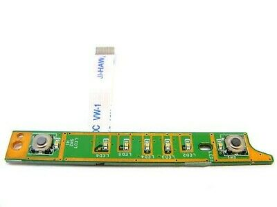 Dell XPS M1330 Genuine Power Button and LED Board 48.4C304.011 with Ribbon