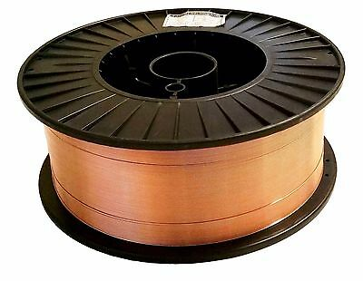 "33 Lb Roll .035"" Mild Steel MIG Welding Wire ER70S-6 Layer Wound"