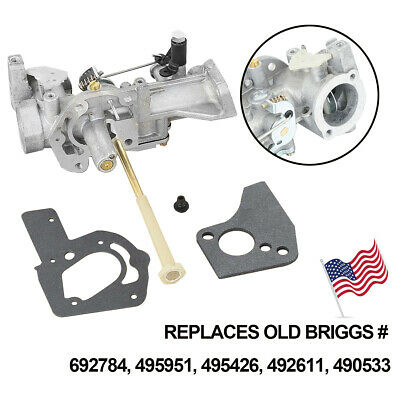 Fits Briggs & Stratton 498298 Carburetor 495426 692784 495951 With Free Gaskets