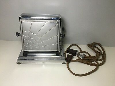 GE General Electric Hotpoint Toaster CARLISLE Model No. 119T46 1930's w/ Cord