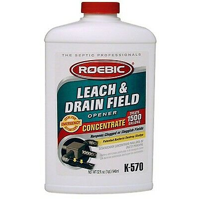 Roebic K-570-Q-4 32-Ounce Leach And Drain Field Opener Concentrate