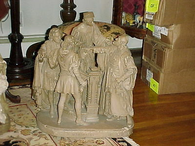 John Rogers Group of Statuary 'Is Is So Nominated In The Bond?'  Shakespeare