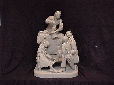 John Rogers Group of Statuary   'TRAVELING MAGICIAN'