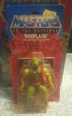 Vintage Mattel MOTU He-Man Whiplash MOC Selling Collection