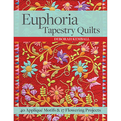 C&T Publishing CT-11144 C & T Publishing-Euphoria Tapestry Quilts