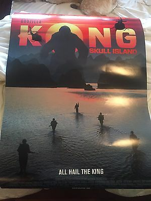 kong: skull island (2017) Orig Movie Poster Double Sided 27x40