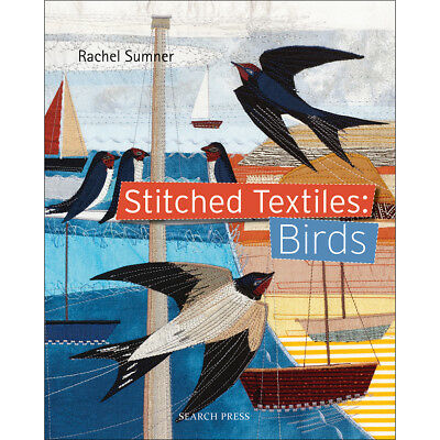 Search Press SPX-89886  Books-Stitched Textiles: Birds